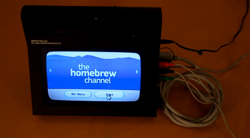 how to play wii backups from usb stick in homebrew